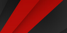 Abstract Modern Black Red Contrast Background