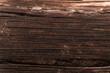 Zbliżenie na strukturę ciemnego drewna, zniszczone drzewo, piękne tło, tekstura.