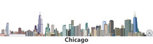 Chicago Vector City Skyline