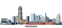 Yokohama Vector City Skyline