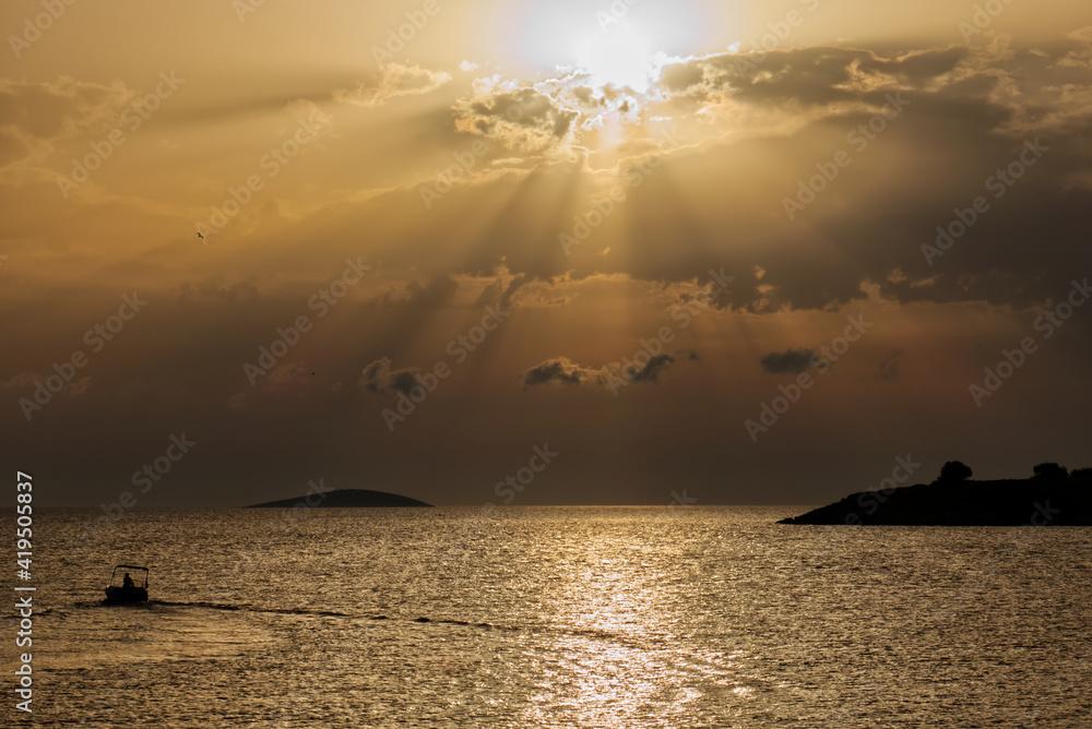 Fototapeta Chorwacja wyspy morze