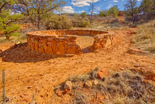 Stone Indian Circle in Red Rock State Park AZ
