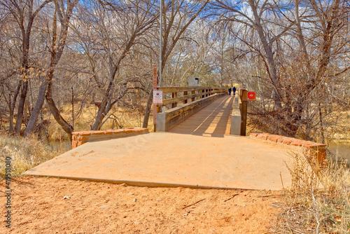 Kingfisher Bridge in Red Rock State Park AZ