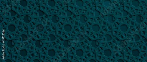 Photo Arabic pattern background. Islamic ornament. Vector illustration