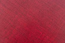 Textura De Tapa De Libro Con Entramado De Líneas Negras Sobre Fondo Rojo