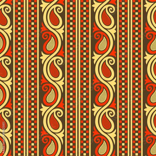 Tapety Orientalne  wzor-paisley-o-geometrycznych-ksztaltach