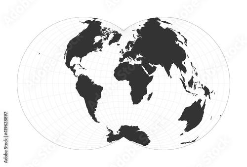 Obraz na plátně Map of The World