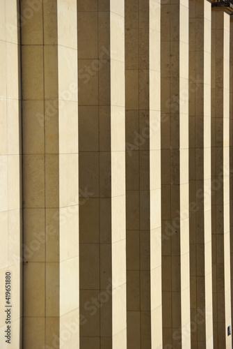 Canvas Façade à colonnes