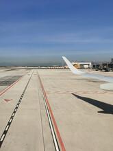 External View Of  Airport In Spain