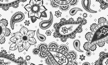 Seamless Paisley Repeat Pattern
