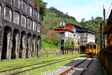 Jingtong Station, Pingxi Railway Line, A Popular Destination In New Taipei City Taiwan