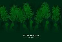 Gradient Palm Sunday Event