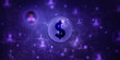 canvas print picture - 2d rendering usd Dollar symbol