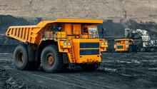 Large Quarry Dump Truck
