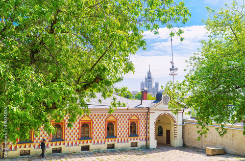 Fotografija The side wing of Palace of Romanov Boyar, Moscow