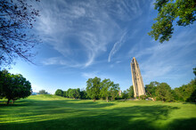Moser Tower And Millennium Carillon. Regular Concerts Are Held Featuring Both Local And Guest Carillonneurs From Around The World. NAPERVILLE, ILLINOIS