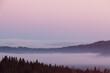 Panorama z Czarnej Góry, Podhale