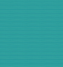 Thick Horizontal Stripes Simple Seamless Geometric Pattern, Blue And Green Background. Hand Drawn Vector Illustration. Childish Texture. Design Concept Kids Fashion Print, Textile, Fabric, Wallpaper