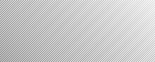 Abstract Gray Monochrome Stripe Pattern Design. Minimal Striped Surface Isolated On White Background. Eps 10 Vector