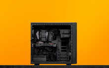 Repairs Broken Desktop Computer Inside