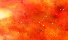 Clouds Explosion With Stars Super Nova Background Wallpaper In 8K High Resolution