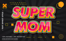 Super Mom Text Effect Style