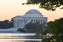 Thomas Jefferson Memorial During Sunset - Washington D.C. United States Of America