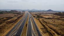 Aerial Landscape Of Abuja City Highway
