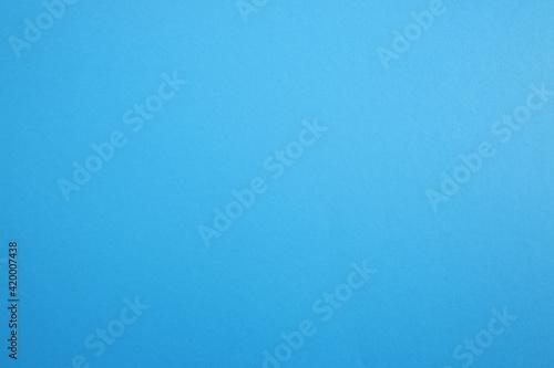 Obraz Paper, cardboard background. High resolution paper texture. Colored Blue background. - fototapety do salonu