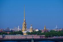 RUSSIA, SAINT PETERSBURG - 06.09.20: Peter-Pavel's Fortress On Rabbit Island In Saint Petersburg, Russia