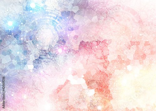Fotomural abstract background, patern, stained glass, mazayka, background, abstraction, mi