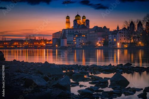 Photographie Sunset in Passau