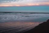 Fototapeta Morze - sunset on the beach