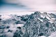 canvas print picture - montagne