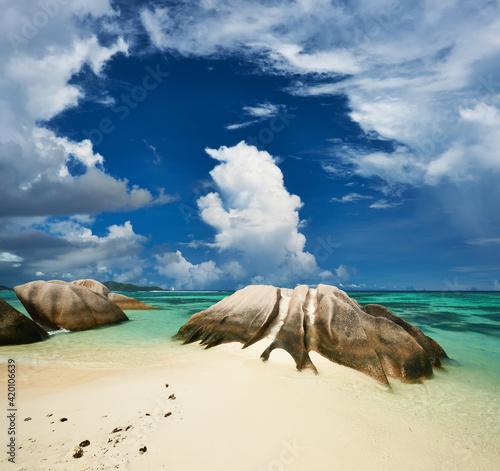Fotografija Beautiful beach at Seychelles