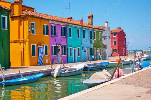 Fototapety, obrazy: Burano in Venice