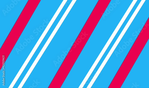 Obraz Bright vibrant wallpaper illustration with a diagonal striped pattern for an abstract background - fototapety do salonu