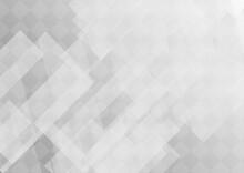 透明感のある灰色の幾何学的な抽象背景 No.05