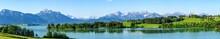 Herrlicher Frühsommertag Am Forggensee Im östlichen Allgäu