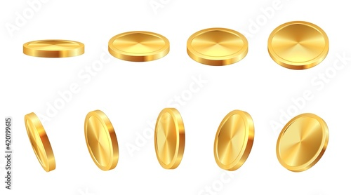Foto Golden coin