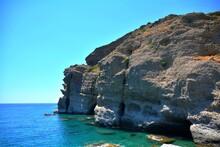 Falaises De Agia Galini, Crète, Grèce 1