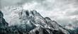 canvas print picture - Bergwelt