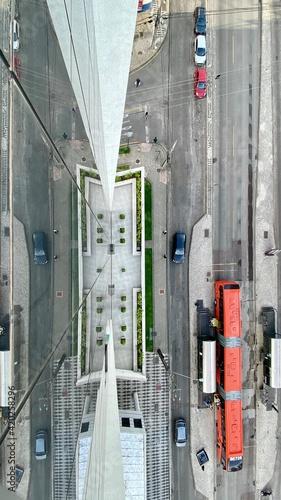 Fotografia Avenida em Curitiba