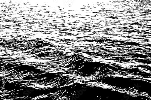 Fototapeta Waves on the Ocean Illustration obraz
