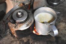 Road Side Tea Stall .