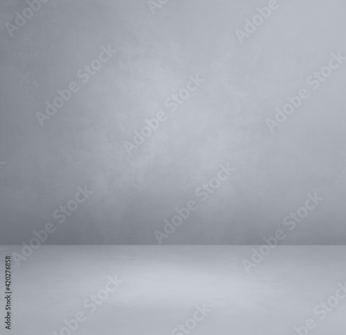 Obraz Empty concrete interior background - fototapety do salonu