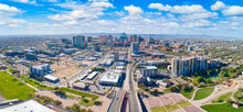 Downtown Phoenix, Arizona, USA Skyline Aerial