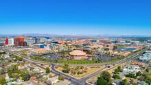 Tempe, Arizona, USA Downtown Drone Skyline Aerial