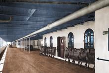 Die Titanic 1912, Das Promenadendeck, Koloriert In Farbe