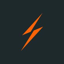 Thunder Logo Vector Illustration Template. Eps 10
